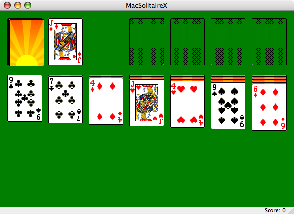 Kb jpeg serenity of solitaire games with a nice novelty dice solitaire